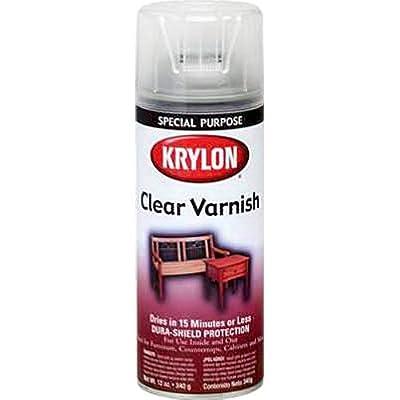 Krylon K07001 Clear Gloss Varnish, 11 Ounce