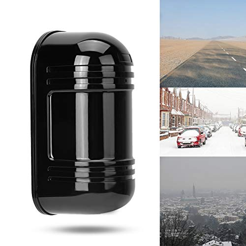 Invisible Beam Barrier Active Detection Digital Pulse Infrared Sensor 100m Waterproof IR Alarm