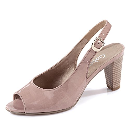 Con 61 831 Gabor Shoes Tacco Rosa Sandali Donna SIqxTxF