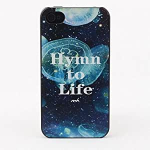 LCJ Hymn to Life Style Protective Back Case for iPhone 4/4S