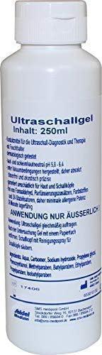 Gel de contacto Gel de ultrasonido de Seidel Medizin - 250 ml