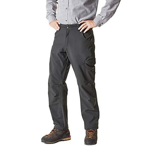 TRUEWERK Men's Work Pants - T2 WerkPant Technical Workwear, 34W X 36L Deep Grey