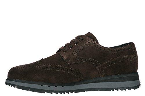 Chaussures Marron Classiques Lacets À Homme Prada Derby En Daim 8qHdRdawx