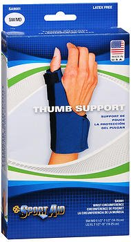 Sport Aid Thumb Support SM/MD - 1 ea., Pack of 5 by SportAid