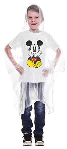 Buy disney rain poncho youth
