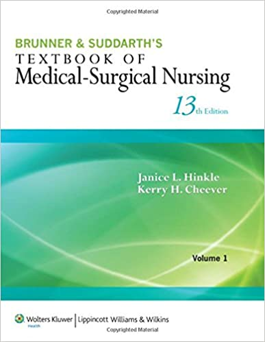 Brunner Nursing Book Pdf
