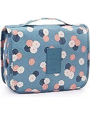 حقيبة أدوات الزينة متعددة الوظائف حقيبة مستحضرات التجميل المحمولة حقيبة ماكياج مقاومة للماء السفر معلقة المنظم حقيبة للنساء الفتيات