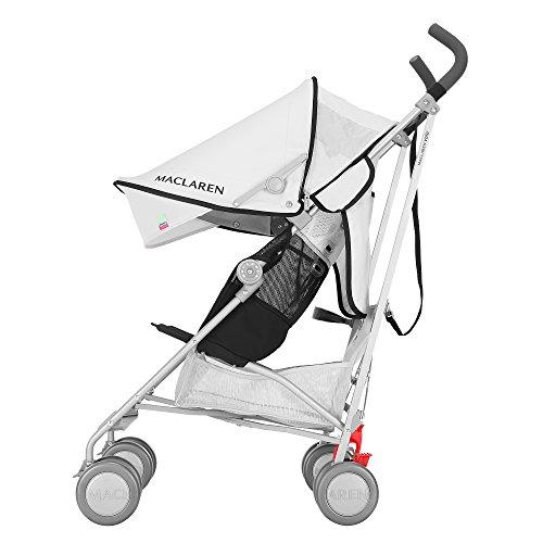 Maclaren Volo Stroller, Silver/Black