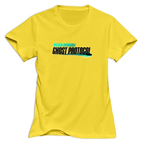 Mission: Impossible Ghost Protocol Classic Short Sleeve T-shirt For Womens