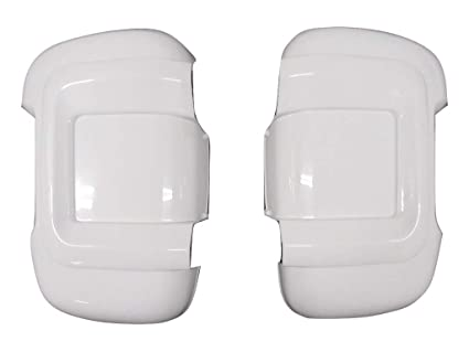 Long Arm White Wing Mirror Protectors