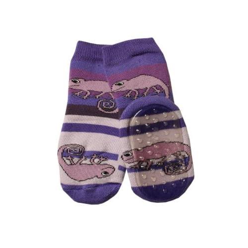 f8e3ed606cf69 perfect weri spezials unisexe bebes et enfants abs eponge cameleon  pantoufle chaussons chaussettes pourpre with chausson chaussette enfant