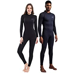 Adult men's wet suits for scuba diving / surfing / kayaking / paddle boarding / fishing equipments, Full-length, long sleeve wetsuit for multi water sports need. To keep you warmer in the cold water by the snug skin fitting design and best CR...