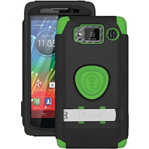 Trident Case KRAKEN AMS Series for Motorola DROID RAZR HD (XT926) - Retail Packaging - Green (Droid Razr Otterbox Case)