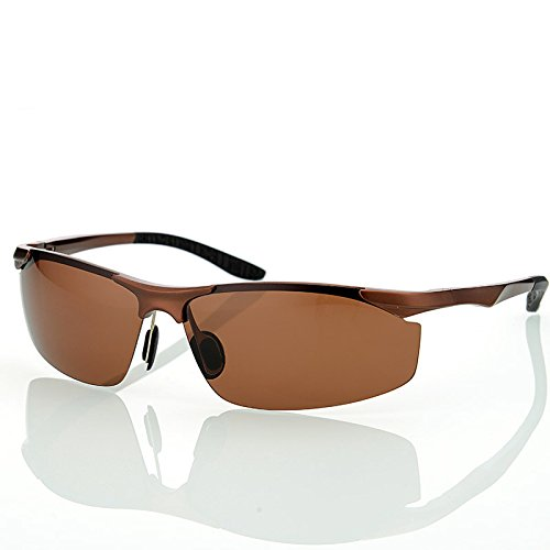 Gafas Guía masculino Brown TIANLIANG04 magnesio sol de para gafas estilo los de hombres aleación polarizado gris de sol aluminio de Gafas Gafas de de conductores BAUSwqxdA