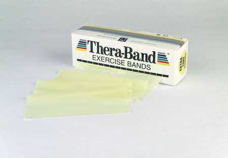 Theraband 20010 Professional Resistance Band Tan (Extra Thin) 6 Yard Roll by TheraBand Band 6 Yard Roll