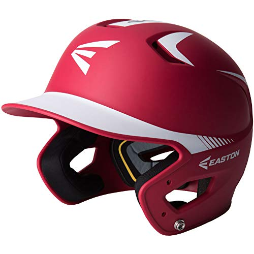 - Easton Youth Limited Z5 2-Tone Grip Batting Helmet Red/White 6 3/8-7 1/8