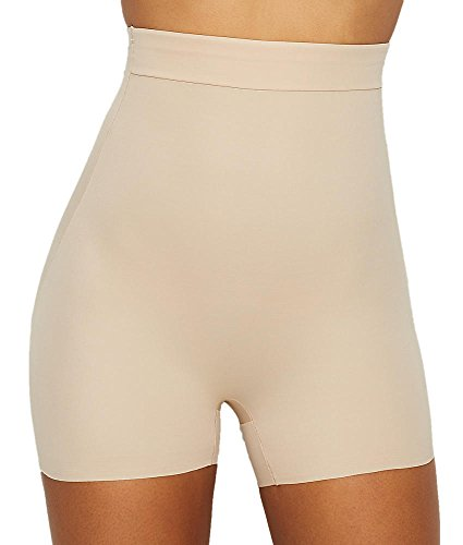 TC Fine Intimates Luxurious Comfort High-Waist Boyshort Nude