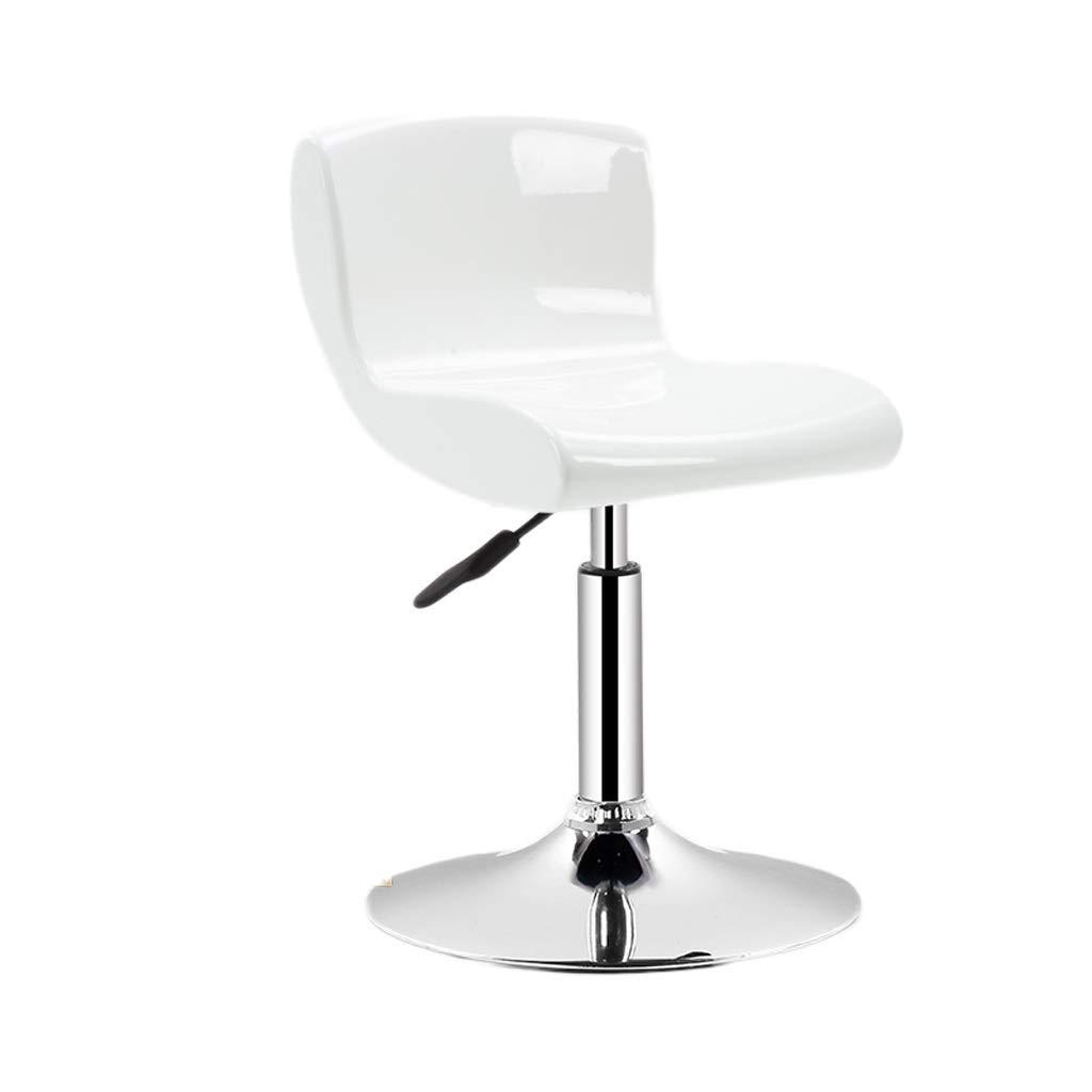 White 41cm TXXM Barstools Bar Stool Lift Home high stools Breakfast Stool Counter Stool Black Multicolor (color   White, Size   41cm)