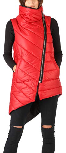Rosso Donna Bellivalini Winter Vest Long Blvvoka01 XwX4zRq