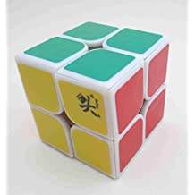 Dayan Zhanchi I Speed Cube 2x2x2 Puzzle, White, 50mm