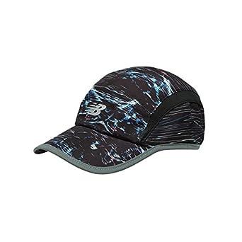 cf6d0e0d632 New Balance Mens 5-Panel Performance Running Cap Hat - Electric Print