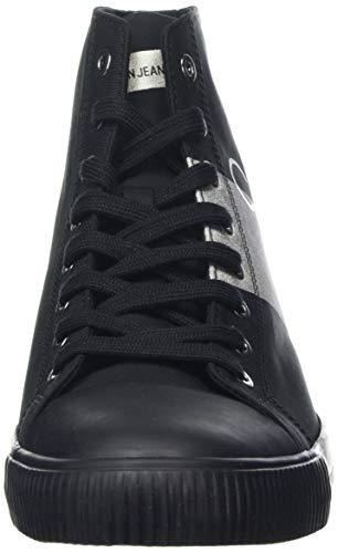 Sneaker Antani 000 Film Collo Klein Uomo A Nylon metal Calvin black Alto Nero silver ZwXxqW