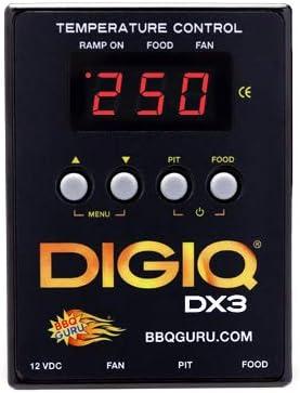 DigiQ DX3 BBQ Temperature Controller and Digital Meat Thermometer - BBQ Guru's Favorite