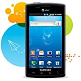 Samsung Galaxy S Captivate I897 Unlocked GSM Android Cell Phone - Black