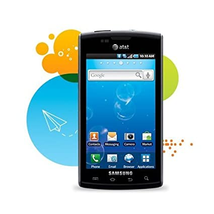 Samsung i897 Captivate Android Smartphone Galaxy S GSM Unlocked - Black