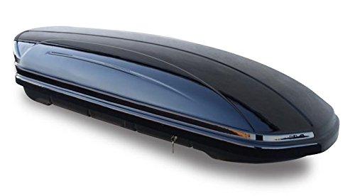 Alu Relingtr/äger VDP004XL f/ür VW Touareg 7P5 ab 10 Skibox VDPMAA460 460Ltr schwarz gl/änzend abschlie/ßbar
