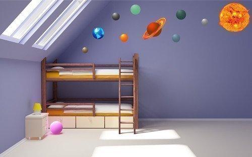Full Colour Solar System Planets Earth Sun Graphic Kids Boys Girls ...