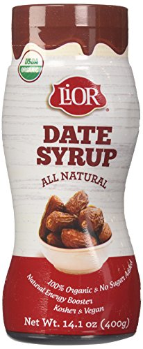 LiOR 100% Organic Pure Date Syrup, 14.1-Ounce Squeeze (Date Syrup)