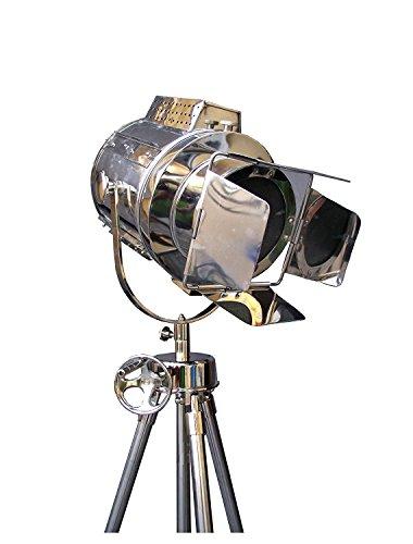 Chrome Yacht Lamp - Vintage Lamp Replica