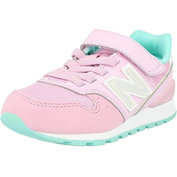 New Balance 996 Rosa/Blu (Pink/Light Tidepool) Scamosciata Bambino ...