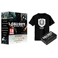 Xbox LIVE Gold 12-Month Membership with free T-shirt - Call of Duty: Black Ops Branded (No Game Included) (Xbox 360)