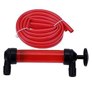 Bomba extractora Supa manual para aceite, gasolina y líquidos, 200 cc
