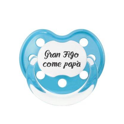 Chupete personalizado - Gran Figo como padre: Amazon.es: Bebé