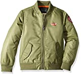 Levi's Boys' Toddler Bomber Jacket, Olivine 3T