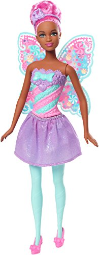 Barbie Dreamtopia Fairy Candy Doll, Pink ()