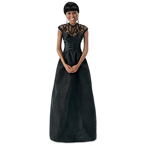 The Ashton-Drake Galleries First Lady Michelle Obama 2013 White House Correspondents Dinner Portrait Doll
