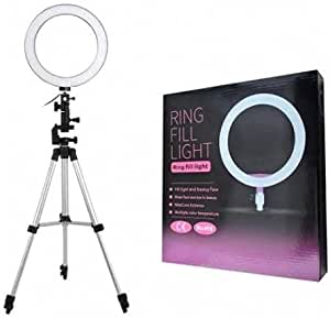 26cm Ring Light with tripod for photography and makeup