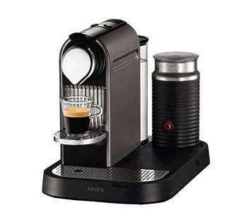 Krups Nespresso Citiz Máquina de café en cápsulas Gris - Cafetera (Máquina de café en