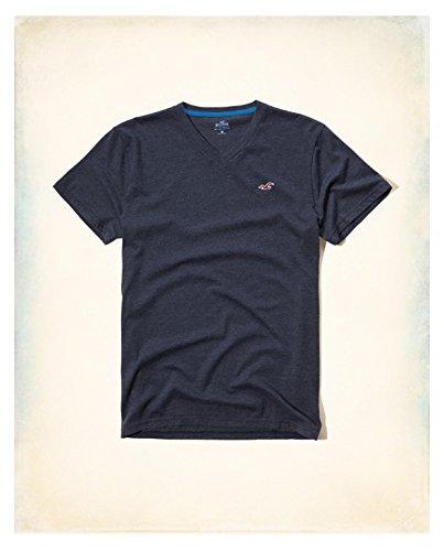 hollister-hco-logo-mens-striple-and-plain-t-shirt-tee-s-navy-12-plain