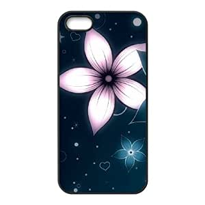 Cool Painting Petals Use Your Own Image Phone Case for Iphone 5,5S,customized case cover case517895 wangjiang maoyi