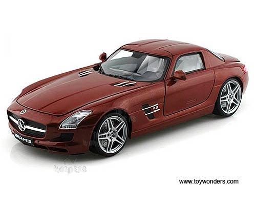 79162CF xk01juefh64 Motormax - Mercedes-Benz SLS AMG Hard Top (1/18 scale diecast model car, 5f2er4lvx0d Chocolate) 79162 diecast car model Mercedes Benz SLS AMG Hard Top 7916