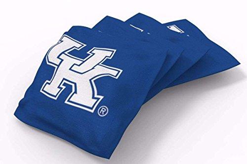 - PROLINE 6x6 NCAA College Kentucky Wildcats Cornhole Bean Bags - Solid Design (A)