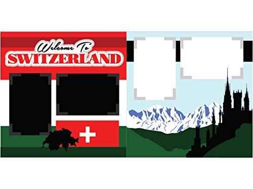 """Welcome to Switzerland"" Scrapbook Kit"