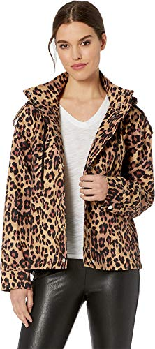 - Juicy Couture Women's Leopard Print Hooded Anorak Multi Regent Leopard Large
