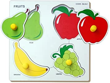 Little Genius Fruits - Double Layer, Multi Color (Small)