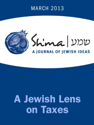 A Jewish Lens on Taxes (Sh'ma Journal
